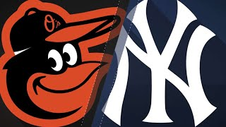 Beckham's homers lead O's past Yanks, 6-3: 9/22/18 - Video Youtube
