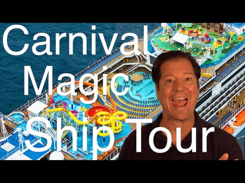 Carnival Magic Review – Full Walkthrough – Cruise Ship Tour – Carnival Cruise Lines