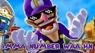 We are number one but it's a Waluigi parody
