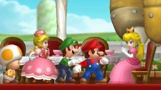 New Super Mario Bros U Deluxe Walkthrough - Part 1 - Acorn Plains