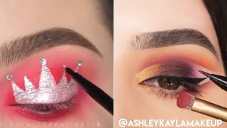 18 Glamorous Eye Makeup Ideas & Eye Shadow Tutorials | Gorgeous Eye Makeup Looks