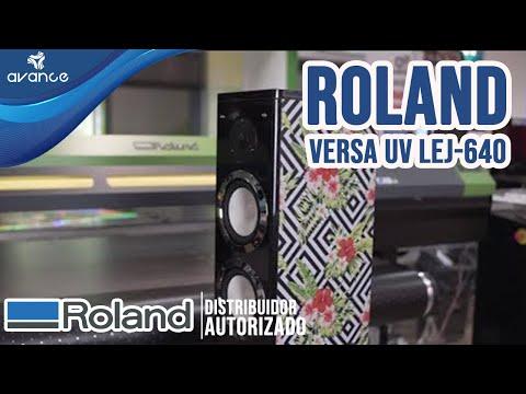 Impresora Roland Versa UV LEJ-640, Aplicaciones increíbles en 30 segundos.