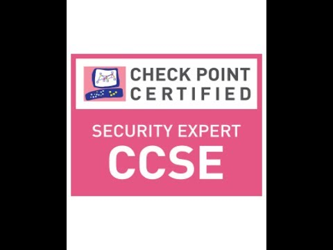 Check Point Certified Security Expert R80.1 | Training | Session 1 ...