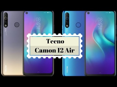 Tecno Camon 12 Air Unboxing and 1st Impression