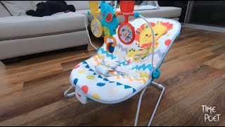 Fisher Price Baby Bouncer Seat - Unboxing & Review
