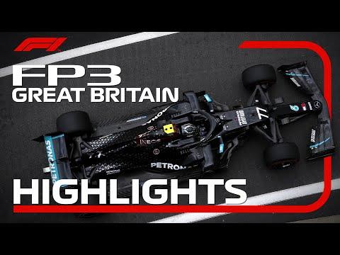 F1 2020 第4戦イギリスGP FP3ハイライト動画