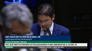 Plenário - Sessão para a votação de propostas legislativas - 01/04/2020 19:34
