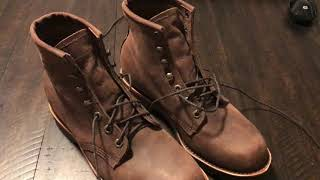 Chippewa 6 Lace Up Boots