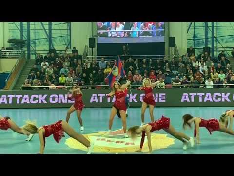 Группа поддержки ПГК ЦСКА Lucky Demons Cheerleaders Черлидинг Танцы
