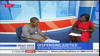 Dispensing justice: Review of pending files kicks off