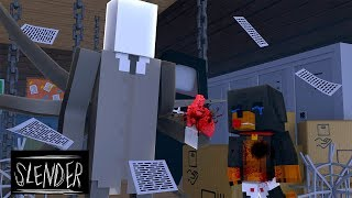 Minecraft Adventures - SLENDERMAN Takes Baby Max's Heart!!
