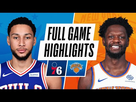 76ERS at KNICKS   FULL GAME HIGHLIGHTS   March 21, 2021