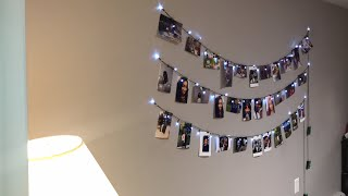 Photo String Decor | DIY Tutorial
