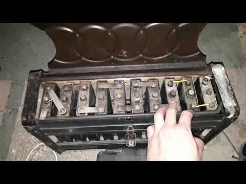 Попытка восстановления ёмкости щелочного аккумулятора