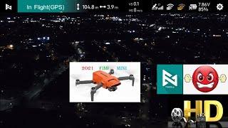 (Night View) 2021 New Fimi Mini x8 Full HD Night Mode Video Camera Review & Fimi mini app Menu Guide