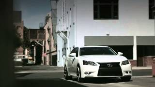 "Felgen.TV Lexus GS 350 mit Lexani Felgen R4 in 20"" mit Custom Paint Finish"