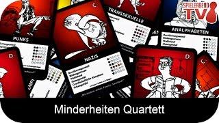 Let's Play • Minderheiten Quartett • Anleitung + Spiel
