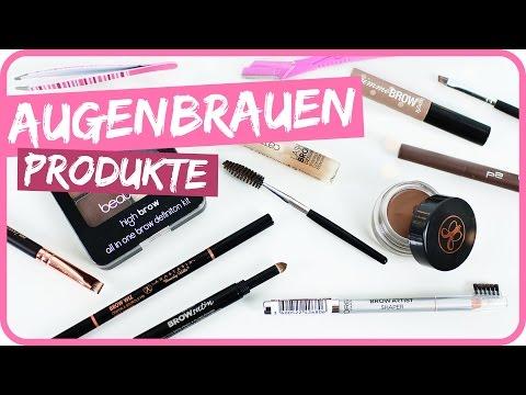 AUGENBRAUEN Produkte im Vergleich mit Benefit DUPE I Sissi