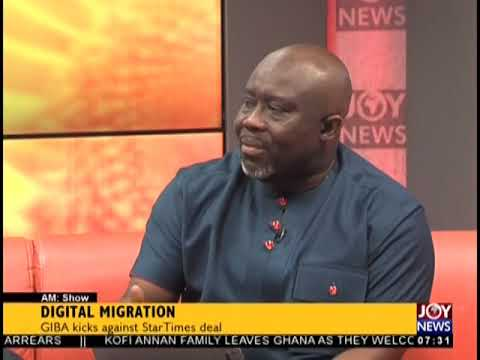 Digital Migration - AM Talk on JoyNews (18-9-18)