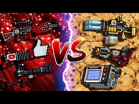 Blogger Set VS Cookie King Set - Pixel Gun 3D
