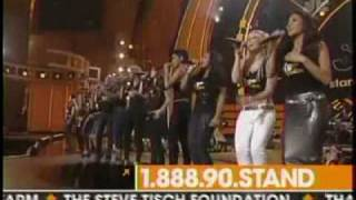 JUST STAND UP Live Performance [HQ+Lyrics] Carrie Underwood, Mariah Carey, Beyoncé, Mary J. Blige, Rihanna, Fergie, Sheryl Crow, Nicole Scherzinger , Natasha Bedingfield, Miley Cyrus, Leona Lewis, Keyshia Cole, Ashanti and Ciara