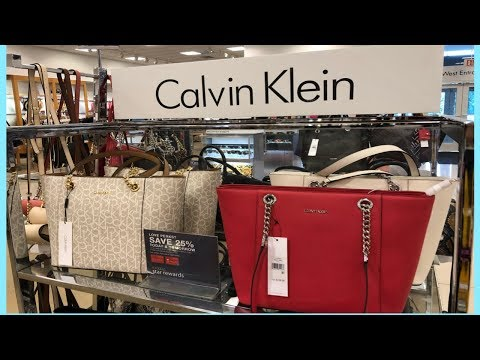 CALVIN KLEIN LATEST BAGS COLLECTION | NEW ARRIVAL AUGUST 2019 | SHOP WITH ME AT MACY'S