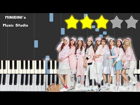 Download Twice 트와이스 Bdz Minibini Easy Piano Video 3GP Mp4 FLV HD