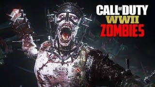 Call of Duty WW2 Zombies - NEW WW2 ZOMBIES WALKTHROUGH + BOSS FIGHT!! (COD WW2 Zombies PS4 Gameplay)