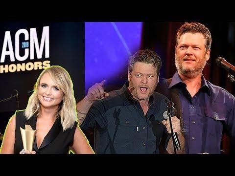 Blake Shelton made a live debut of 'Hell Right', evading Miranda Lambert at ACM Honors?