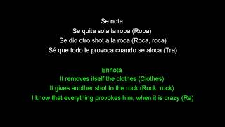Contra La Pared-Sean Paul, J Balvin (lyrics+English translation)