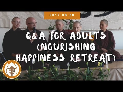 Q&A for Adults (Nourishing Happiness Retreat, UK) | 2017.08.28
