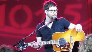"David Cook - ""Heroes"" Acoustic -May 17, 2011- Part 1"