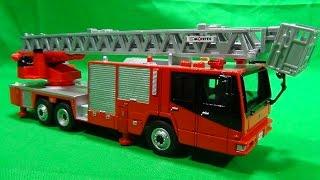 ダイヤペット 1/54スケール はしご消防車