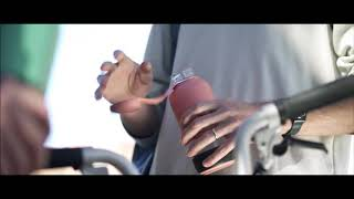 Juomapullo lasia 600 ml koralli