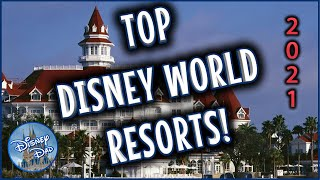 Best Disney World Hotels! TOP RANKED Resorts 2020! Must Stay On Your Next Trip!