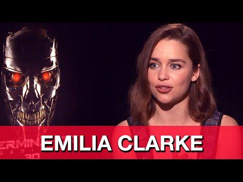 Emilia Clarke Terminator Genisys Interview - Sarah Connor | MTW