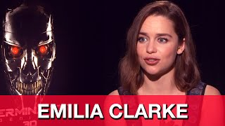 Emilia Clarke Terminator Genisys Interview - Sarah Connor