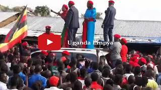 Bobi Wine Arrives In Hoima | Powerful Speech