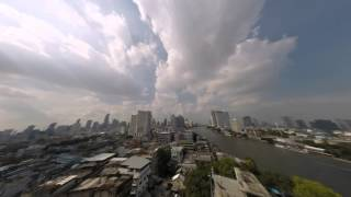 2015-06-03 Timelapse - Clouds & Chao Phraya River, Bangkok