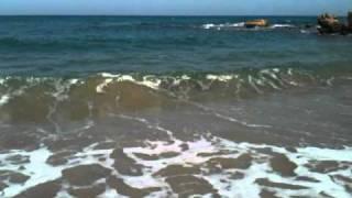 preview picture of video 'Кипр, море волнуется'