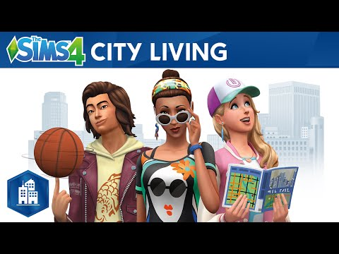 The Sims 4 City Living: Official Trailer thumbnail
