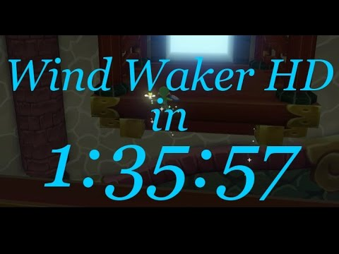 Nuevo récord speed-run en Zelda: The Wind Waker HD
