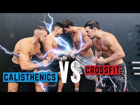 CALISTHENICS VS CROSSFIT 💣 Street Gorilla Strength Battle