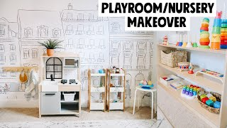 SURPRISE Playroom/Nursery Montessori Makeover! 2020