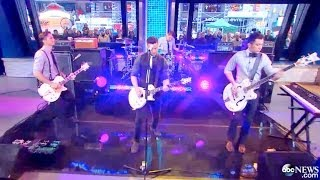 Boyce Avenue Live on Good Morning America (GMA) performing I'll Be The One (Original Song)