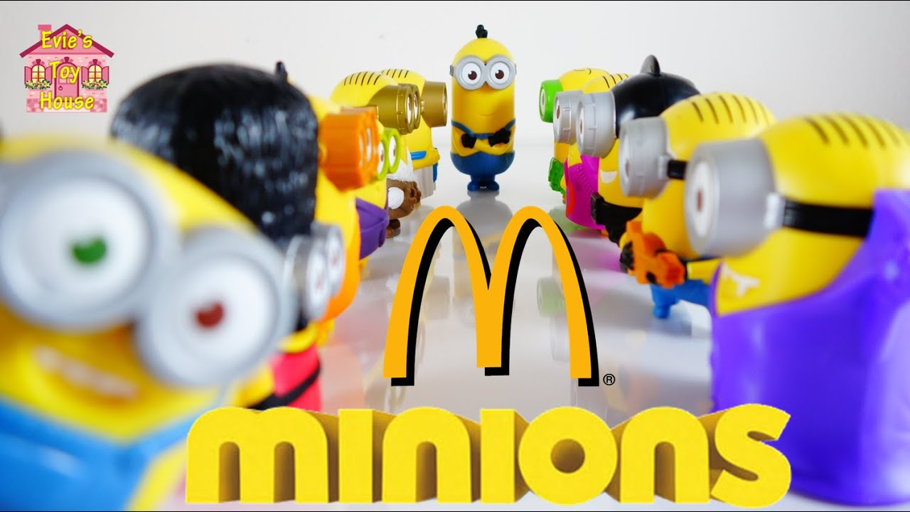 2015 AND 2013 Minions McDonalds Happy Meal Complete Sets | Evies Toy House