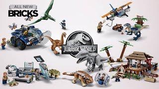 Lego Jurassic World Compilation Of All 2020 Sets