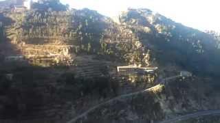 preview picture of video 'الشمس وهي تسطع على جبال رازح'