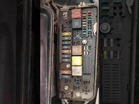 Opel Vectra c fuse box digram - смотреть онлайн на on