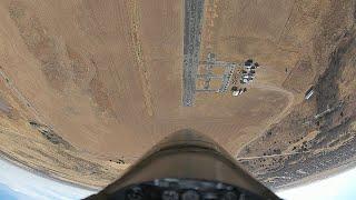 Freewing T-33 FPV test flight